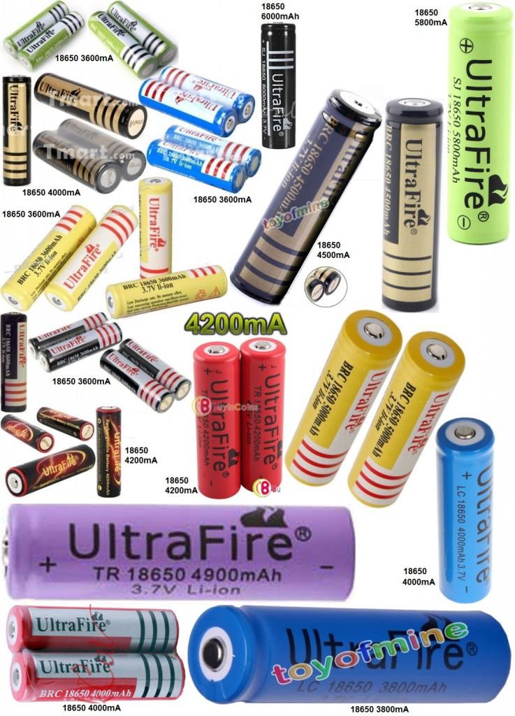 Falsificaciones de baterias