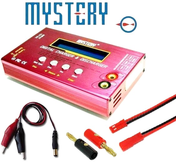 Mystery-B6-Digital-Balance-Charger-Discharger-Red-Black-Lipo-Charger-MY-B6V2-