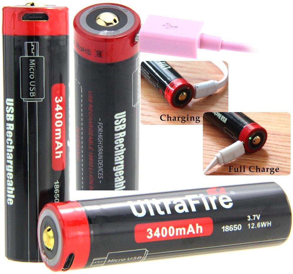 UF18-3400 USB 3400mAh